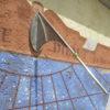 vertical sundial, frescoed