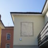 Sundial frescoed on insulated wall